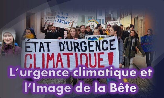 L'urgence climatique et l'Image de la Bête (Série Prophéties Apocalyptiques partie 1 sur 5)