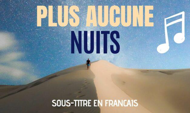 """Chanson """"No more nights"""" – Paroles en Français"""