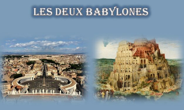 Les deux Babylones: l'origine de fêtes et de rituels